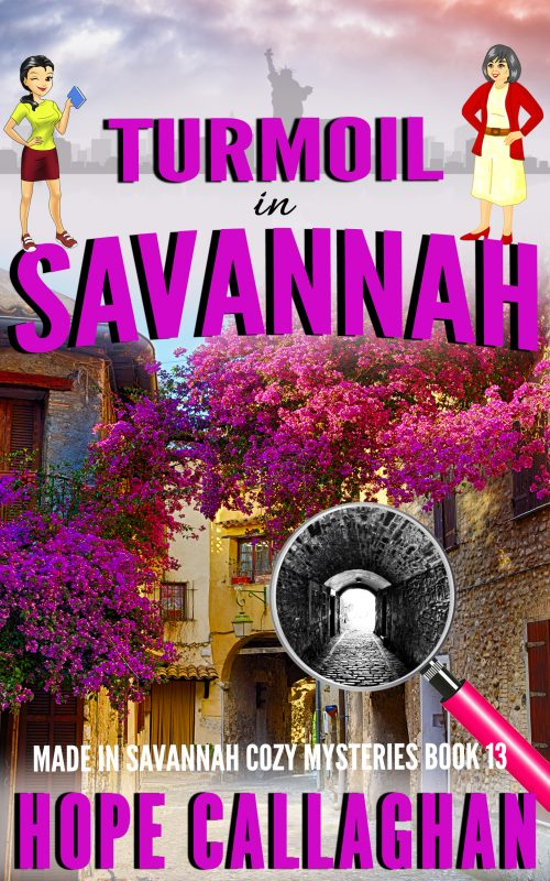 Turmoil in Savannah – A Christian Cozy Mystery