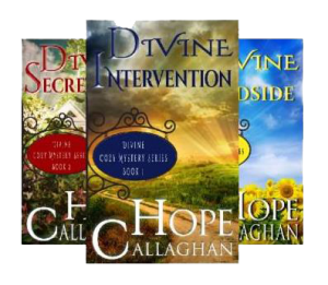 Divine Cozy Mysteries by Author Hope Callaghan