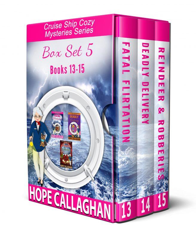 Cruise Ship Cozy Mysteries Box Set 5: Books 13-15