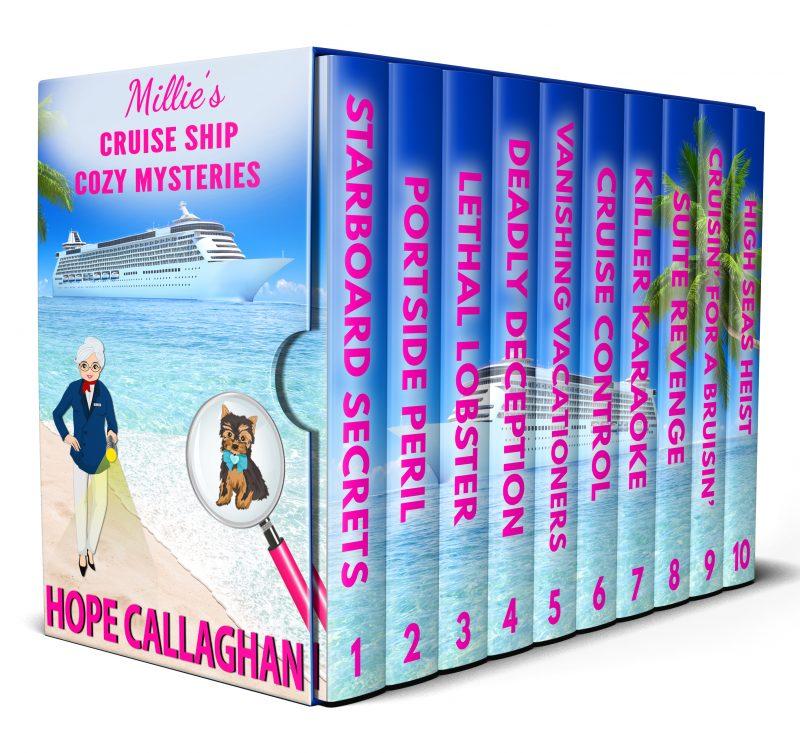 Millie's Cruise Ship Cozy Mysteries Box Set: Books 1-10